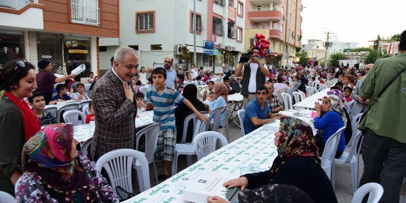 Osmaniye'de mahalle iftarları tamamlandı