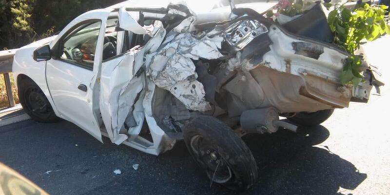 Körfez'de zincirleme kaza: 4 yaralı