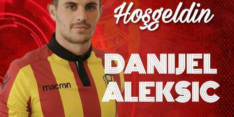 Yeni Malatyaspor, Danijel Aleksic'i renklerine bağladı
