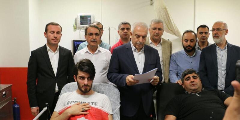Mardin'de Ak Parti Gençlik Kolları üyelerine saldırı