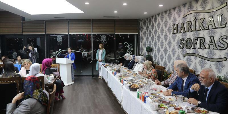Başkan Çelik, AK Parti Kadın Kolları'nın iftarına katıldı