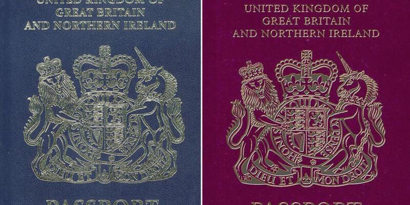 İngiltere pasaportlarına el koydu