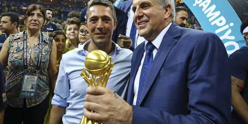 Ali Koç Fenerbahçe'de ilk kupasını kazandı