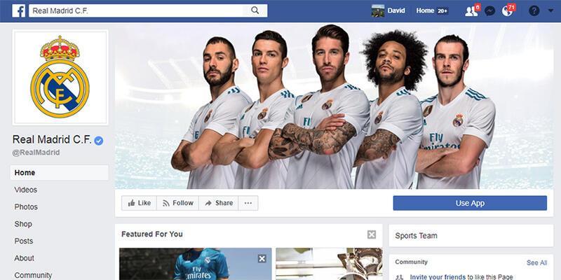 En sosyal takım Real Madrid, Türkiye'de ise Galatasaray