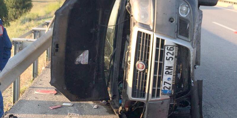 Kütahya'da kaza: 2 ölü, 4 yaralı