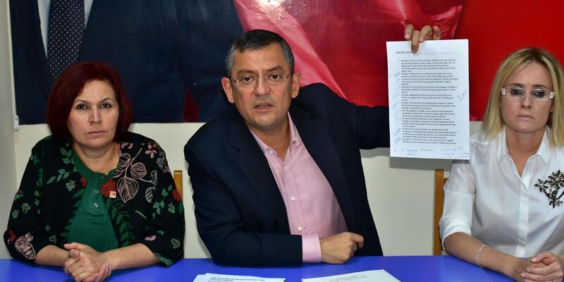 CHP'li Özel: Bozdağ, yalancılıkla itham ettiğin için özür dile