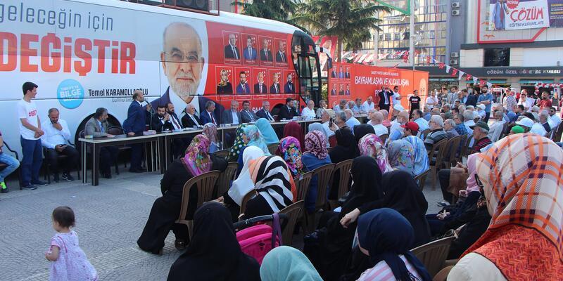 Karamollaoğlu'nun Samsun programı iptal oldu