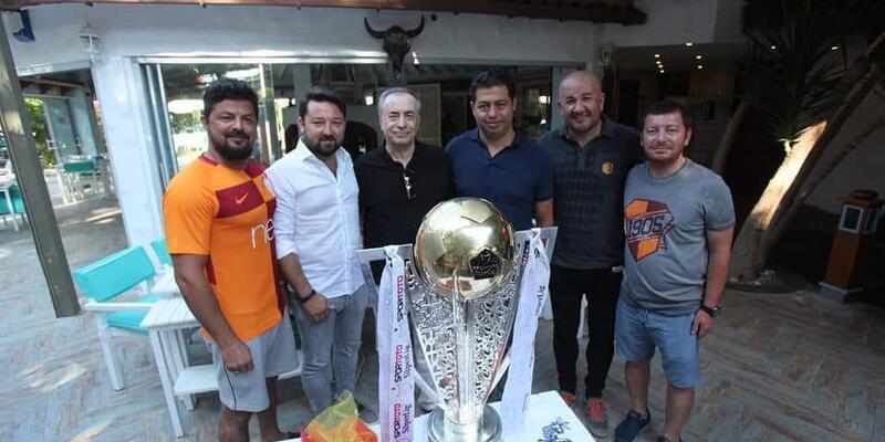 Galatasaray'ın kupası Bodrum'da