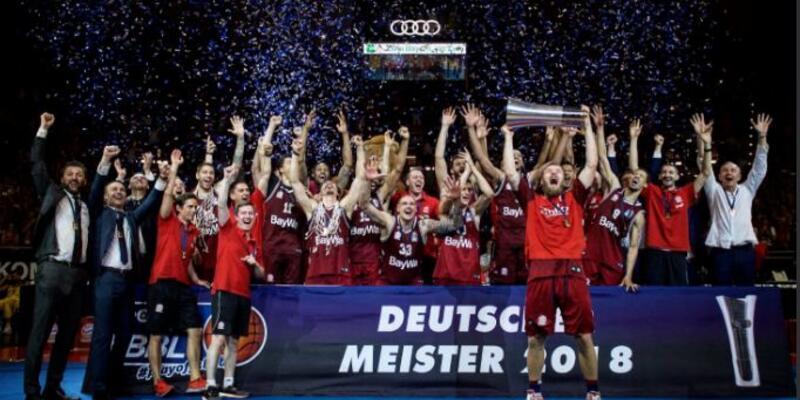 Almanya'da basketbolda da şampiyon Bayern Münih
