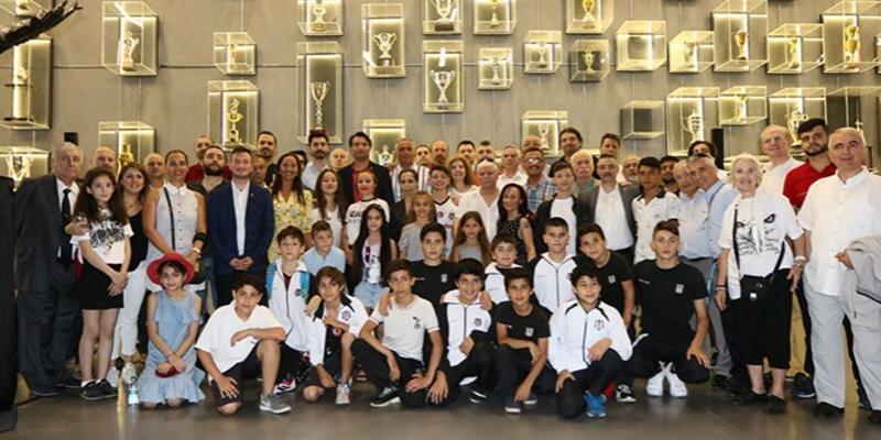 Beşiktaş bayramlaşma töreni yapıldı