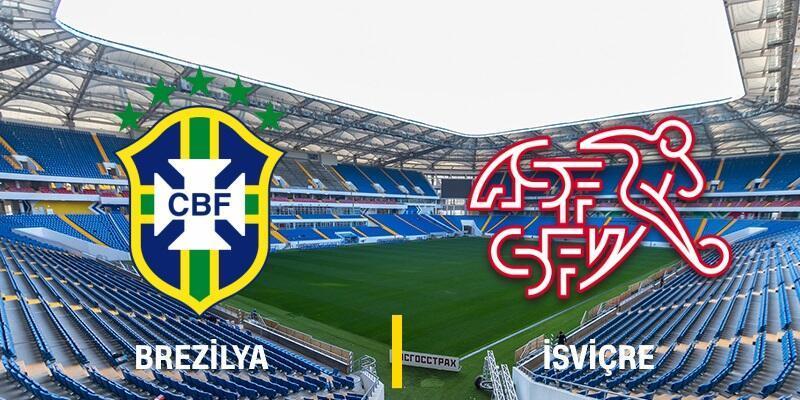Canlı: Brezilya-İsviçre maçı izle | TRT 1 canlı yayın (Dünya Kupası)