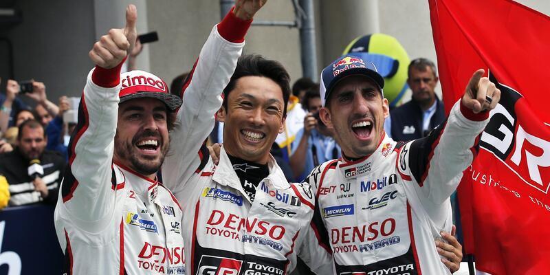 Alonso Le Mans'da zafere ulaştı