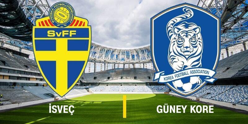 Canlı: İsveç-Güney Kore maçı izle   Dünya Kupası, TRT 1 canlı yayın
