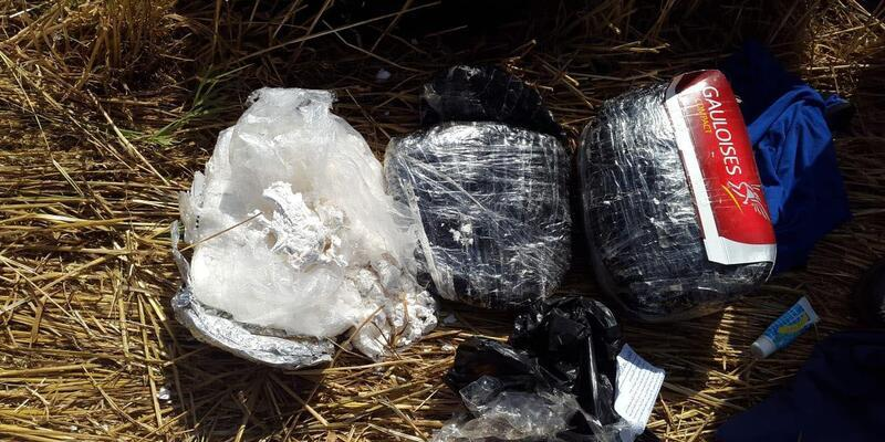 Kızıltepe'de 10 kilo patlayıcı ele geçirildi