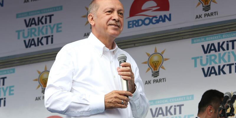 Erdoğan: Münbiç'te, 'devriye gezme olayı' dedik, o da başladı