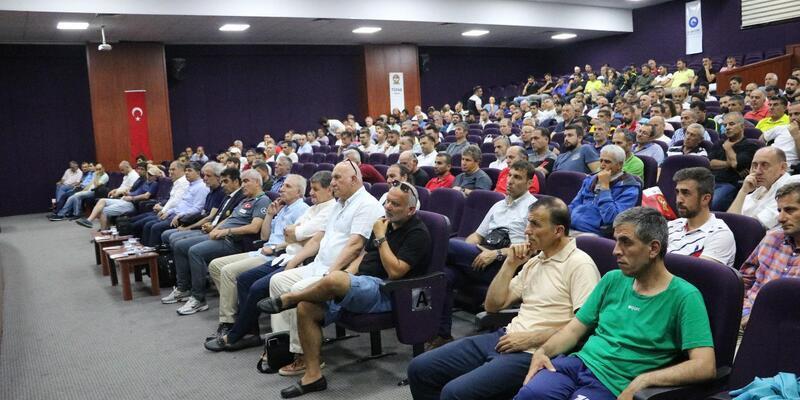 TFF ve TÜFAD'tan Samsun'da seminer