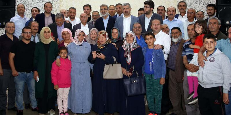 Başkan Çelik, vatandaşlarla bir araya geldi