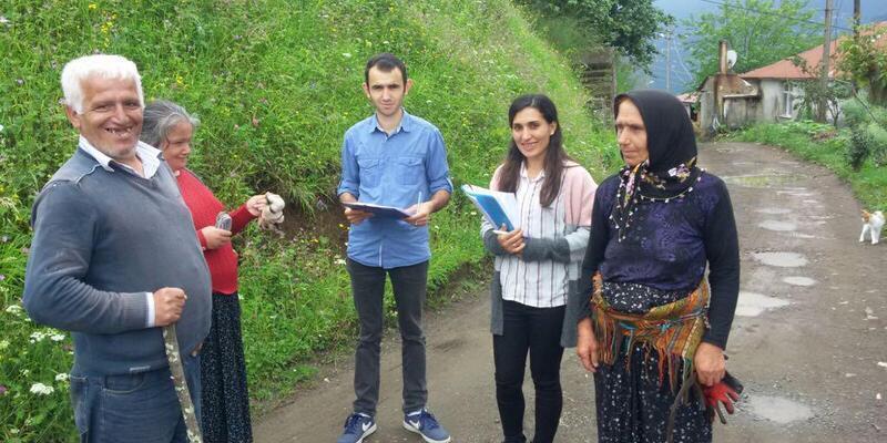 Trabzon'da Ramazan ayında 4 bin 395 aile ziyaret edildi