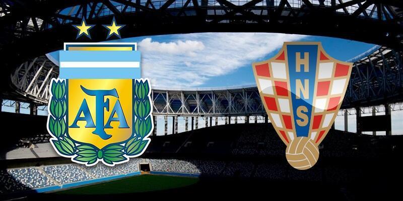 Arjantin-Hırvatistan maçı izle   TRT 1 canlı yayın  (2018 Dünya Kupası)