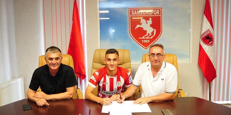 Samsunspor, Enes İslam ile 3 yıllık sözleşme yeniledi