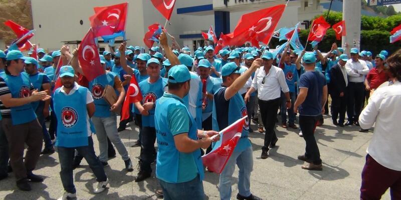 Ereğli'de metal işçileri grevde