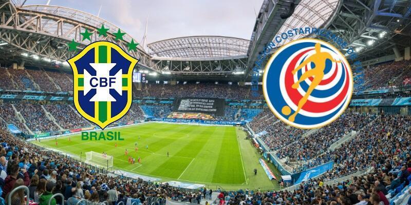 Brezilya-Kosta Rika maçı izle   TRT 1 canlı yayın (Dünya Kupası)