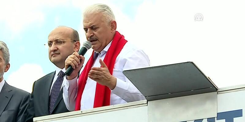 Başbakan Yıldırım'dan Millet İttifakı için sert sözler