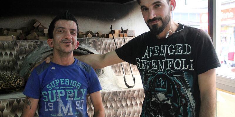 İç savaştan kaçan Iraklı, Samsun'da fırın işletiyor