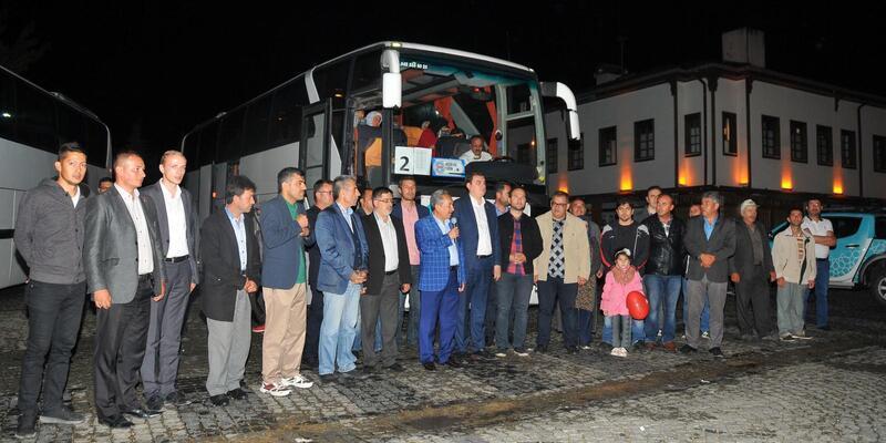 Kitap okuma yarışmasında dereceye giren öğrenciler Çanakkale ve Konya'ya gezisine gönderildi