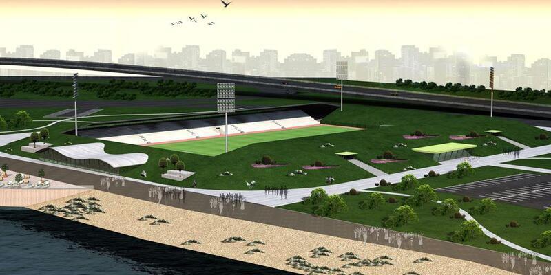 Rize'ye yeni futbol sahası yapılıyor