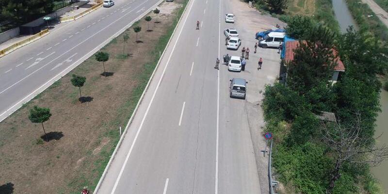 Tekirdağ'da jandarmadan asayiş uygulaması: 20 gözaltı