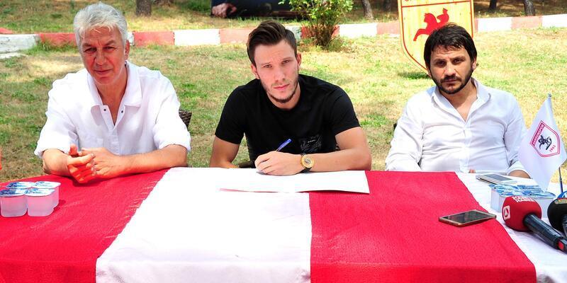 Samsunspor, Canberk ile imzaladı