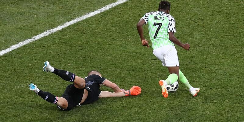 Nijerya 2-0 İzlanda / Maç Özeti