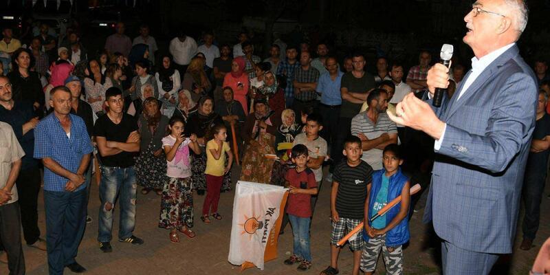 AK Partili Yılmaz : Sandıkta hiçbir tereddüt yaşamayın
