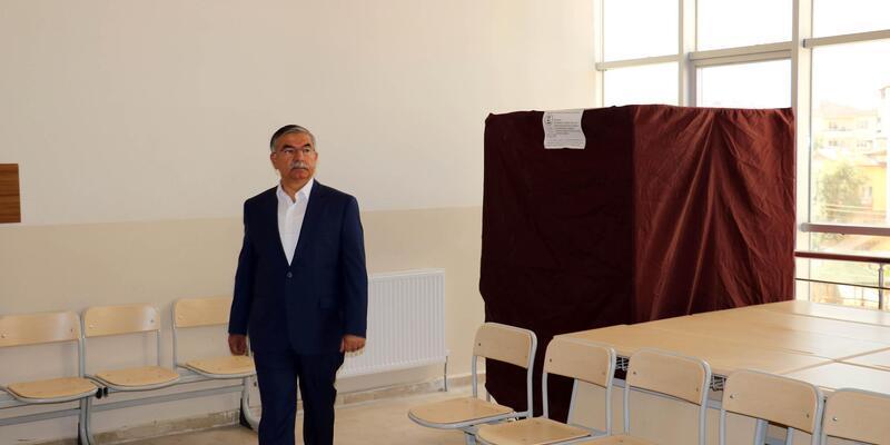 Bakan Yılmaz: Hasta ve engelliler evde oy kullanabilecek