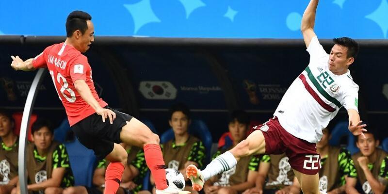 Güney Kore 1-2 Meksika / Maç Özeti