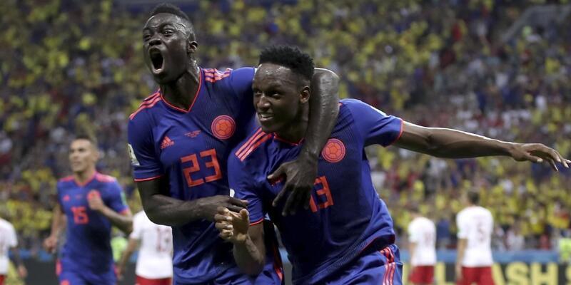 Polonya 0-3 Kolombiya / Maç Özeti