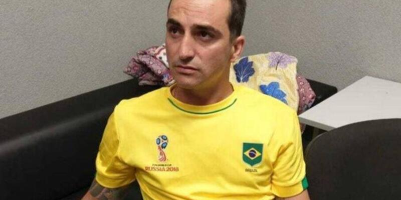 Brezilyalı postane soyguncusu Dünya Kupası'nda yakalandı