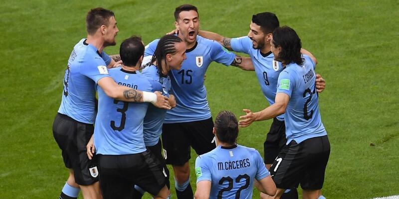 Uruguay 3-0 Rusya / Maç Özeti