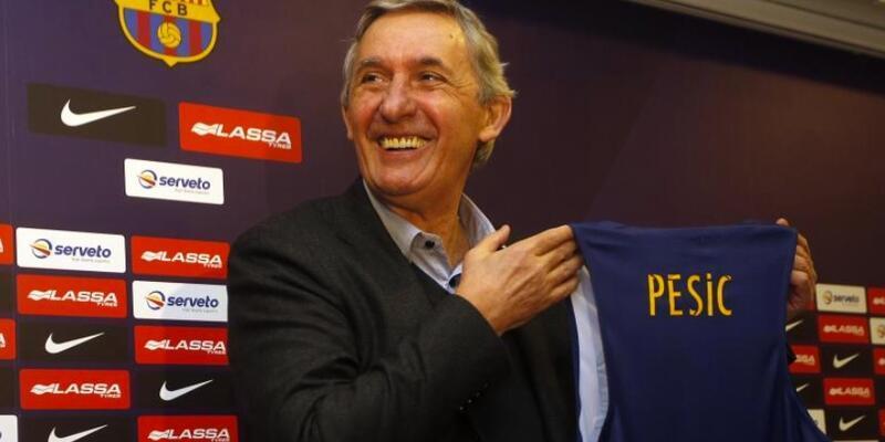 Svetislav Pesic bir yıl daha Barcelona'da