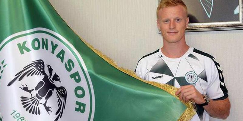 Konyaspor'da Jonsson'ın sözleşmesi yenilendi