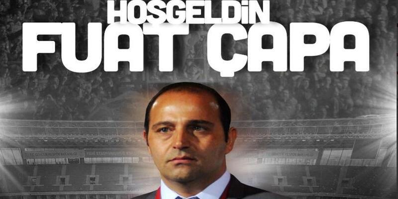 Eskişehirspor'un yeni teknik direktörü Fuat Çapa oldu