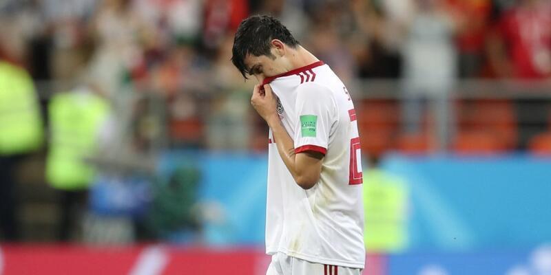 Sardar Azmoun milli takımı bıraktı