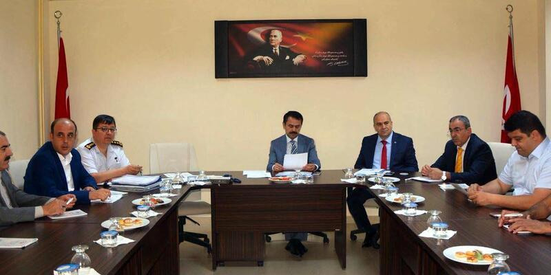 Nevşehir'de spor güvenliği toplantısı yapıldı