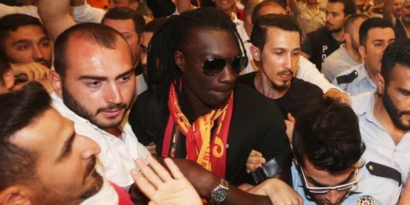 Gomis'ten Galatasaray taraftarına mesaj var