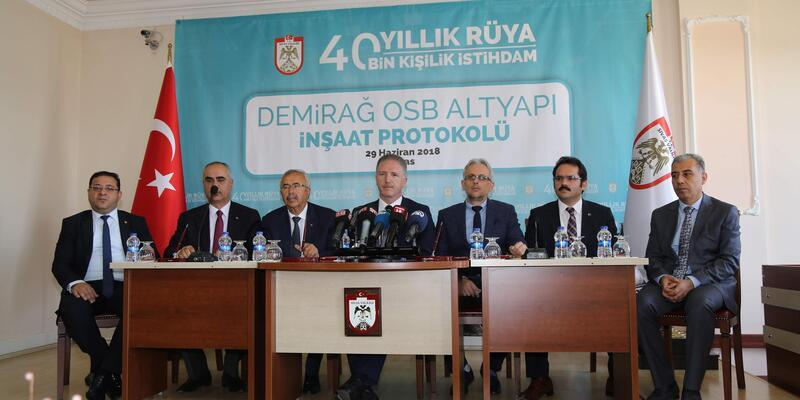Sivas'a yeni organize sanayi bölgesi