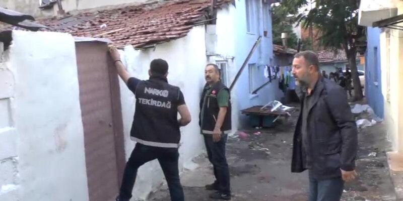Tekirdağ'daki uyuşturucu operasyonda 19 gözaltı