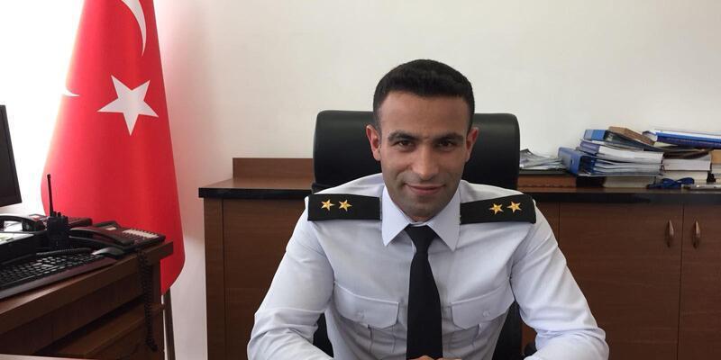 Çorlu İlçe Jandarma Bölük Komutanlığı'na Üsteğmen Özbay atandı