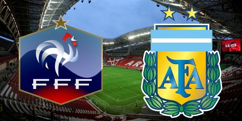 Fransa-Arjantin maçı izle | TRT 1 canlı yayın (Dünya Kupası Son 16 Turu)