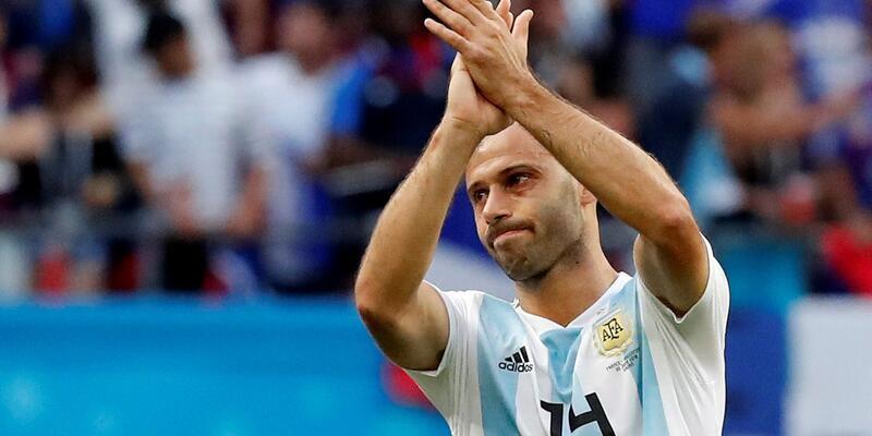 Arjantinli yıldız Mascherano gözyaşları içinde veda etti